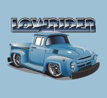 Cartoon lowrider truck Kids Tee