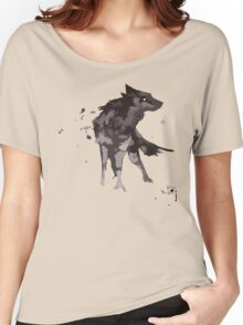 Wolf Watercolor Women's Relaxed Fit T-Shirt