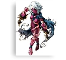 Assasin RPG Girl Canvas Print