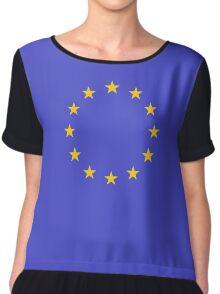 Europan Union Chiffon Top
