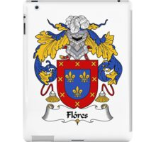 Flores Coat of Arms/Family Crest iPad Case/Skin