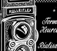 Rolleiflex poster Sticker