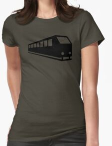 Train locomotive Womens Fitted T-Shirt