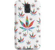 Tie Dye Cannabis Leaf Samsung Galaxy Case/Skin