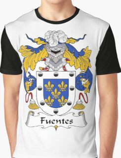 Fuentes Coat of Arms/Family Crest Graphic T-Shirt