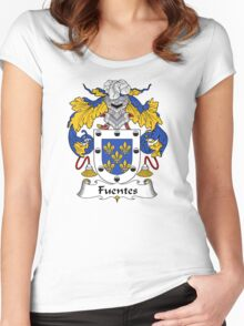 Fuentes Coat of Arms/Family Crest Women's Fitted Scoop T-Shirt