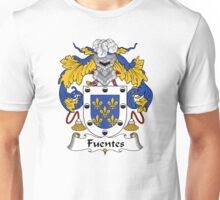 Fuentes Coat of Arms/Family Crest Unisex T-Shirt