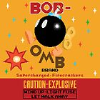 Bob-omb Brand Firecrackers by thedailyrobot