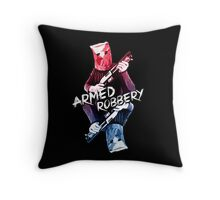 Armed Robbery Throw Pillow