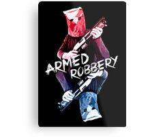 Armed Robbery Metal Print