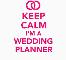 Keep calm I'm a wedding planner Womens Fitted T-Shirt