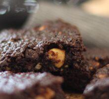 Chocolate Hazelnut Brownies Sticker