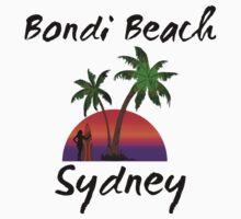 Bondi Beach Sydney Australia Kids Tee