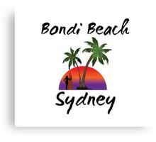Bondi Beach Sydney Australia Canvas Print
