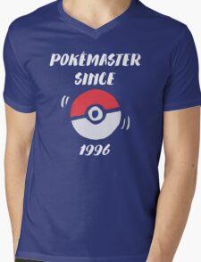 Pokémaster 1996  Mens V-Neck T-Shirt