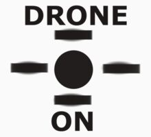 Drone On One Piece - Long Sleeve