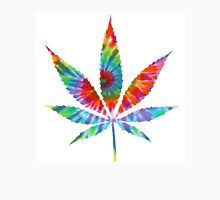Tie Dye Cannabis Leaf T-Shirt