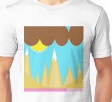 Abstract lendscape by Moma Unisex T-Shirt