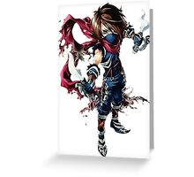Assasin RPG Epic Greeting Card