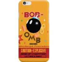 Bob-omb Brand Firecrackers iPhone Case/Skin