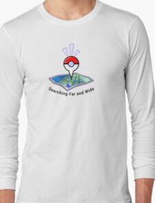 Searching Far and Wide Long Sleeve T-Shirt