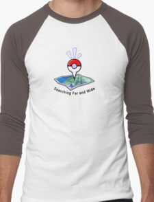Searching Far and Wide Men's Baseball ¾ T-Shirt