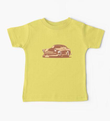 cartoon retro car Baby Tee