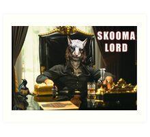Skooma Lord (Skyrim) Art Print