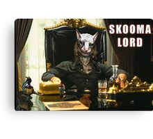 Skooma Lord (Skyrim) Canvas Print