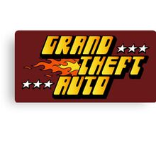 -GEEK- GTA 1 Logo Canvas Print