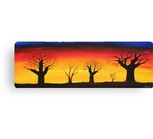 Baobab Trees Canvas Print