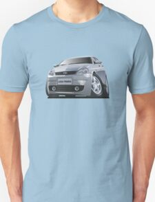 modern cartoon car Unisex T-Shirt