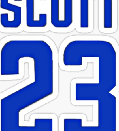 Nathan Scott 23 Sticker