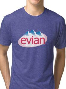 Evian Logo Tri-blend T-Shirt