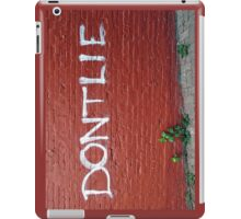 Truth Be Told  iPad Case/Skin