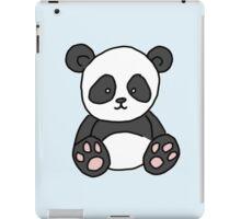 cute little panda bear iPad Case/Skin
