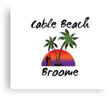 Cable Beach Broome Australia Canvas Print