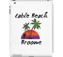 Cable Beach Broome Australia iPad Case/Skin
