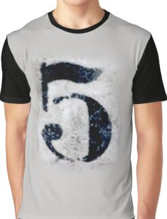 5, DIRTY FIVE, FILTHY 5, NUMBER 5, FIFTH, FIVE, Competition, TEAM SPORTS, Graphic T-Shirt