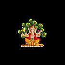 Ganesha India Elephant God by T-ShirtsGifts
