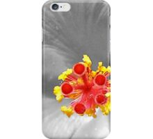 Hello, from a Hybiscus iPhone Case/Skin