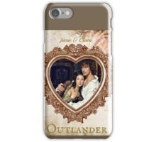Jamie & Claire Fraser heart iPhone Case/Skin