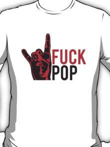 Cool Fuck Pop Metal Hand Finger T-Shirt