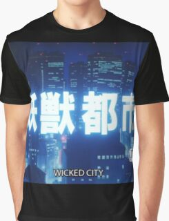 WICKED CITY Graphic T-Shirt