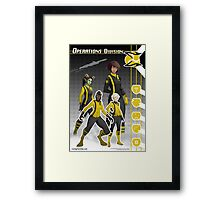 Operations Division (Enlisted) Framed Print