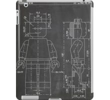 LEGO Minifigure US Patent Art Mini Figure blackboard iPad Case/Skin