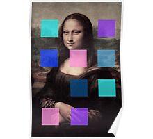 Mona Lisa Modernized Poster