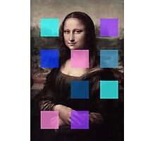 Mona Lisa Modernized Photographic Print