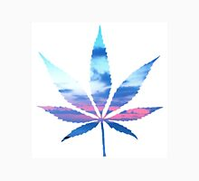 Sunset Cannabis Leaf Unisex T-Shirt