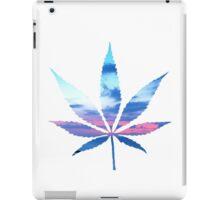 Sunset Cannabis Leaf iPad Case/Skin